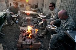 SOLDIERS THANKSGIVING